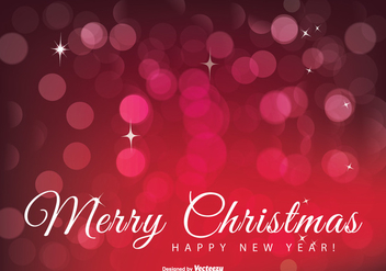 Beautiful Merry Christmas Illustration - vector #303427 gratis