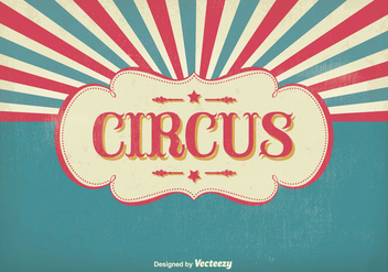 Vintage Circus Illustration - бесплатный vector #303447