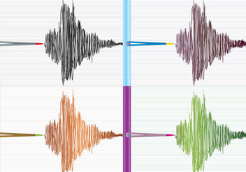 Seismograph Background - vector #303497 gratis