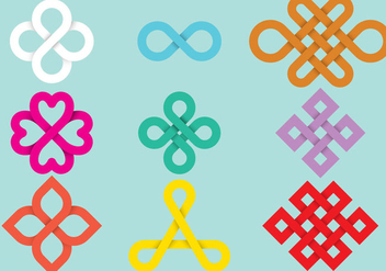 Loop Ribbon Vectors - vector gratuit #303607