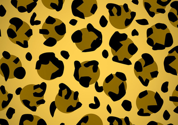 Leopard Animal Print Vector Texture - бесплатный vector #303617