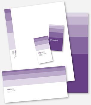 Stylish Business Stationary Set - vector gratuit #303687