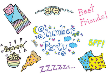 Free Slumber Party Vector Series - Free vector #303857