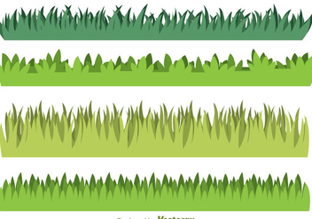 Green Grass - vector #304217 gratis