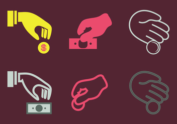 Free donate Vector Icon - vector #304247 gratis