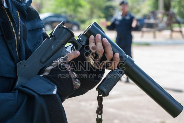 Police training rifle - image gratuit #304597