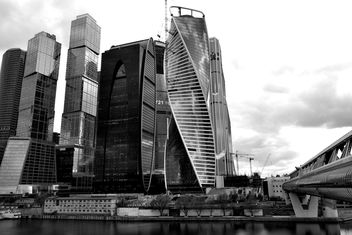 View on new Moscow City buildings - image #304837 gratis