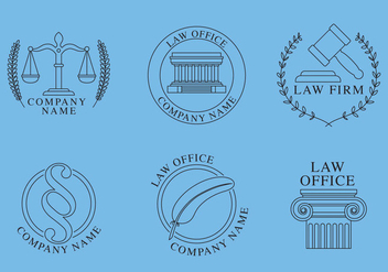Law Office Logos - Kostenloses vector #305017