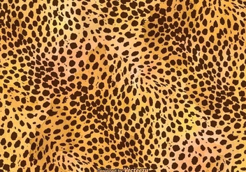 Free Vector Leopard Print Background - бесплатный vector #305477