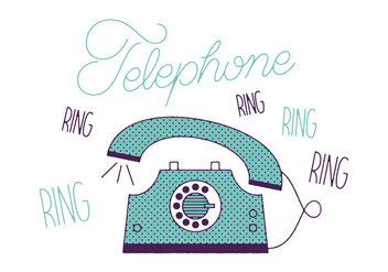 Free Telephone Vector - Free vector #305847