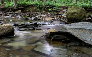 Flowing Creek - image #306867 gratis
