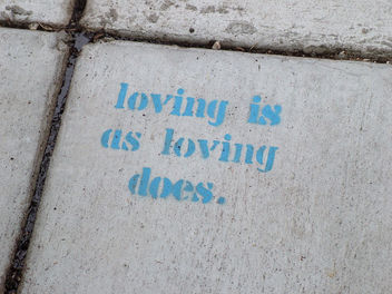 loving is as loving does - image #307657 gratis