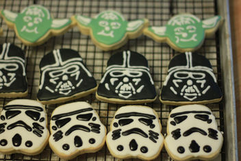 Star Wars Cookies for Moose's 5th Birthday - Free image #308757