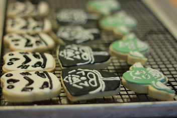 Star Wars Cookies for Moose's 5th Birthday - image #308777 gratis