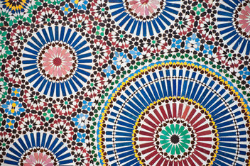 Islamic mosaic pattern - бесплатный image #310047
