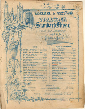 Old Sheet Music - image gratuit #310387