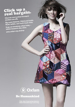 Oxfam online shop advert - бесплатный image #313997