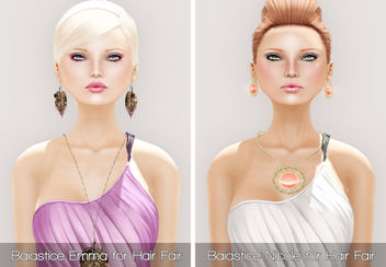 Baiastice Emma & Nicole for Hair Fair 2013 and PXL JADE in PALE and Sun Kissed - Kostenloses image #315667