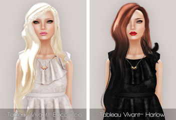 Hair Fair 2013 - ~Tableau Vivant~ Boccaccio - Summer & Harlow - Equinox - image #315677 gratis