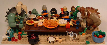 Thanksgiving at the Trolls - Free image #317077