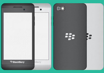 Blackberry Z10 Vectors - бесплатный vector #317457