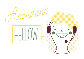 Free Assistant Vector - Free vector #317527
