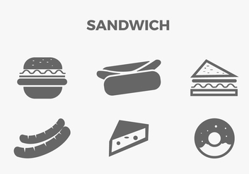 FREE SANDWICH VECTOR - Free vector #317697