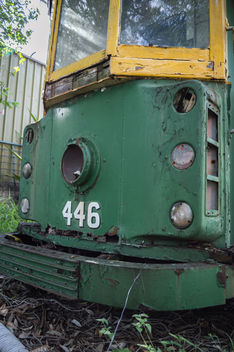 Old Decayed Tram - Free image #319357