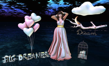 You Know I'm A Dreamer - Kostenloses image #324917