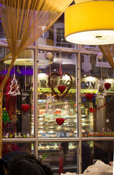 China Town London Chrismas Window - Free image #326377