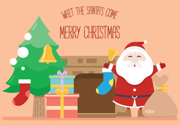 Santa's Come - vector gratuit #326577