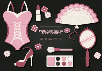 Accessories Vector Illustration - Free vector #327027