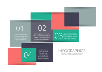 Infographic vector background - Free vector #327097