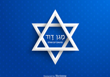 Free Star Of David Vector - vector #327437 gratis