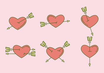 Free Heart Vector Icons #6 - Kostenloses vector #327477