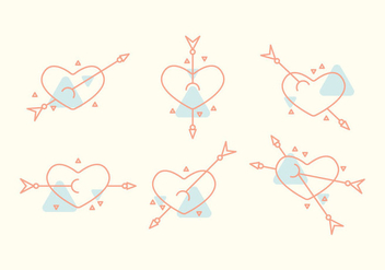 Free Heart Vector Icons #4 - Kostenloses vector #327487