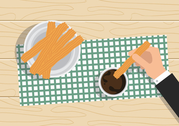 Vector Churros - Free vector #327597