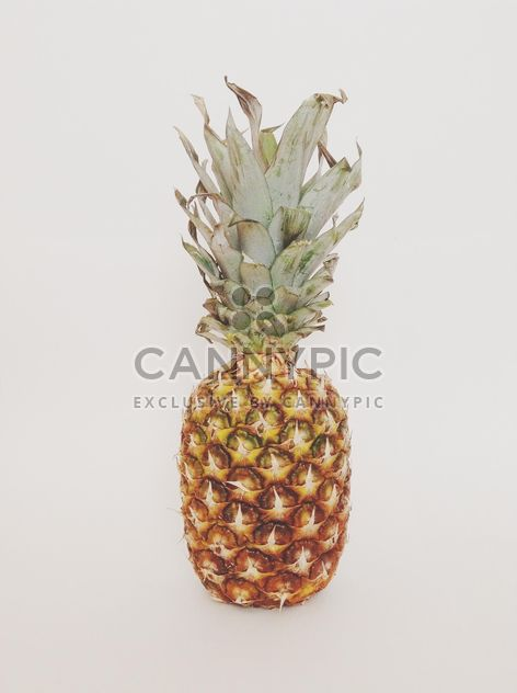 Pineapple on a white background. - Free image #328167