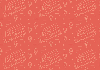Free Foodtruck Vector Patterns #1 - Kostenloses vector #328217