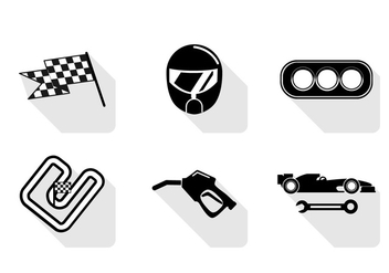 Vector Pit Stop Icon - vector gratuit #328227
