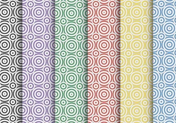 Creative Circle Vector Pattern - Free vector #328707