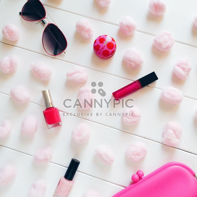 Cosmetics on white background - Free image #329147