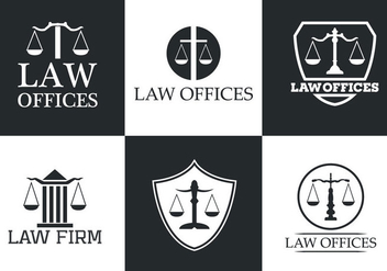 Law Office Vector Logo Collection - Kostenloses vector #329437