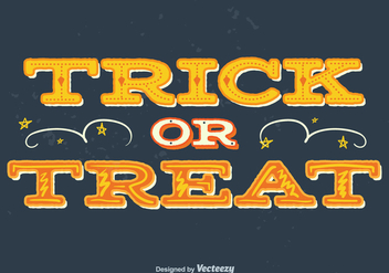 Trick or treat background - Free vector #329737