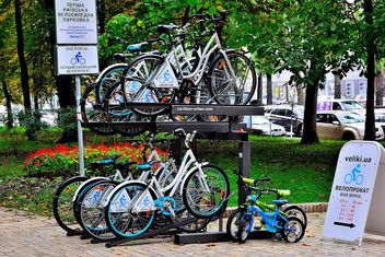 Parking for bicycles - бесплатный image #330277