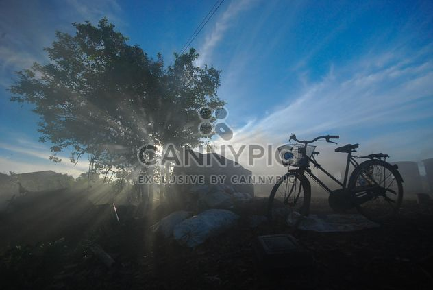 Lonely bicycle on countryside - Free image #330347