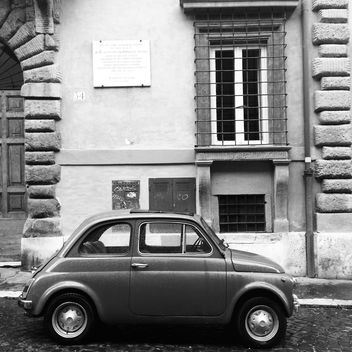 Old Fiat 500 car - image #331067 gratis