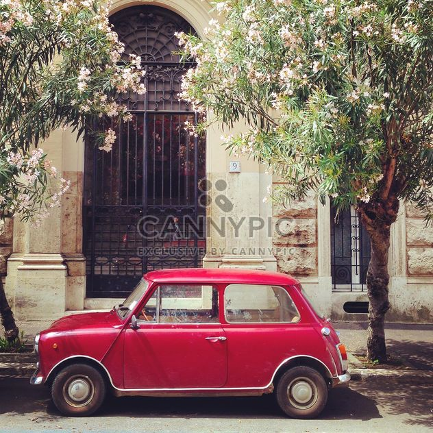 Old red Innocenti car - Free image #331137