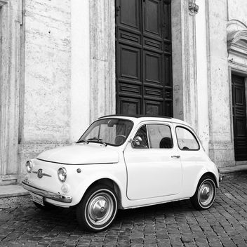 Retro Fiat 500 car - Free image #331257
