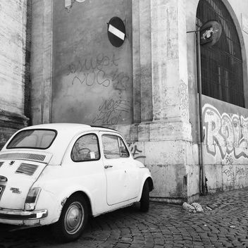 Retro Fiat 500 Car - Free image #331277